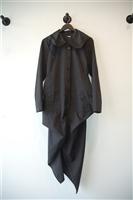 Basic Black Morgane Le Fay Coat, size M