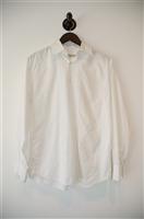 Soft White Alessandro Gherardeschi Button Shirt, size M