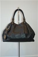 Black Leather Gucci Hobo, size L