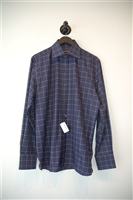 Check Tom Ford Button Shirt, size L
