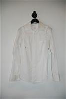 Bright White A.F. Vandevorst Shirt, size M