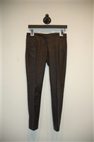 Black Leather A.L.C. Leather Trouser, size 4