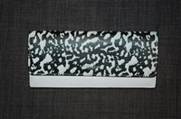 White & Black Coach Wallet, size O/S