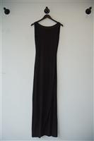 Basic Black All Saints Maxi Dress, size 4
