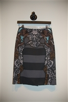 Print Prada Pencil Skirt, size 4