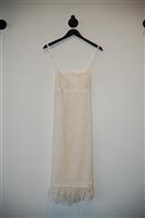 Ivory Gucci Slip Dress, size S