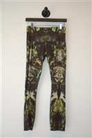 Abstract Print Helmut Lang Leggings, size S
