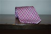 Purple Tones Hermes Tie, size O/S