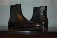 Black Leather Hugo Boss - Boss Chelsea Boots, size 9