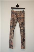 Floral Alexander McQueen - McQ Leggings, size 4