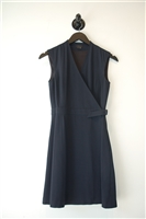 Navy Theory Wrap Dress, size 0