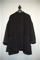 Basic Black Acne Studios Coat, size XS