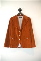 Burnt Orange Dolce & Gabbana Blazer, size 8