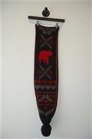 Black & Red Stella McCartney Scarf, size O/S