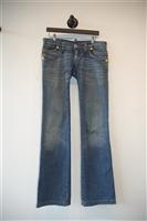 Faded Denim DSquared2 Flare-Leg Jeans, size 32