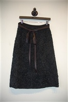 Basic Black Adolfo - Vintage Straight Skirt, size M