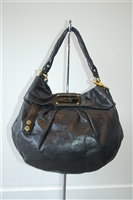 Black Leather Marc by Marc Jacobs Hobo, size L