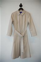 Beige Winser London Trench Coat, size 10