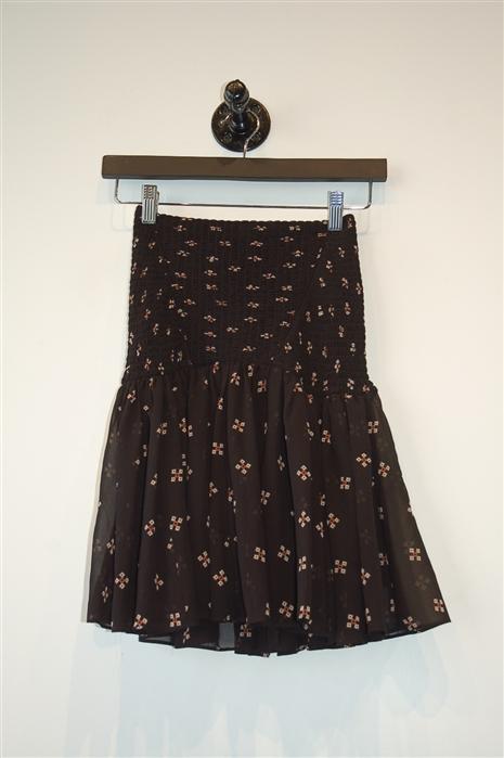Black Maje Flared Skirt, size XS