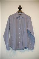 Gingham Theory Button Shirt, size L