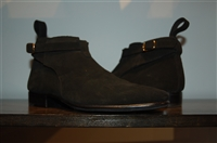Black Suede Store Et Fall Ankle Boot, size 8