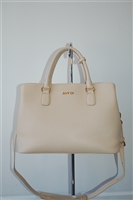 Light Beige Any Di Satchel, size M