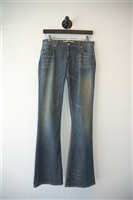 Faded Denim Paper Denim & Cloth Flare-Leg Jeans, size 25