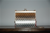 Stainless Steel Wendy Stevens Evening Bag, size S