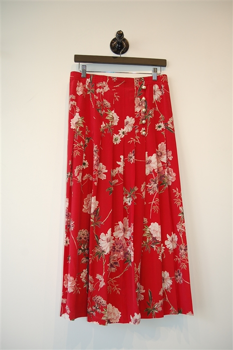 Floral The Kooples Maxi Skirt, size M
