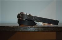 Black Leather Max Mara Belt, size S