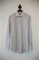 Off-White & Black Paul Smith - London Button Shirt, size M