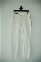 Bright White 7 For All Mankind Slim-leg Jean, size 30
