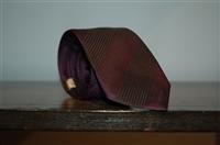 Purple Stripe Burberry - London Tie, size O/S