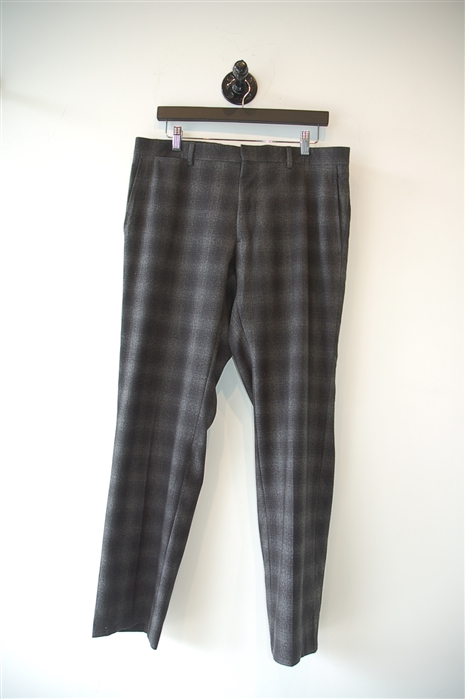 Gray Tartan Burberry - London Trouser, size 34
