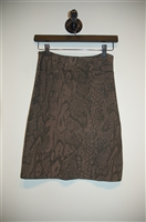 Dark Taupe BCBG Maxazria Pencil Skirt, size S