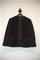 Basic Black Alberta Ferretti Skirt Suit, size 6