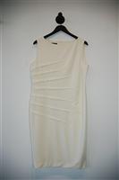 Soft White No Label Sheath Dress, size 12