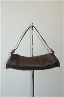 Dark Leather Tod's Shoulder Bag, size M