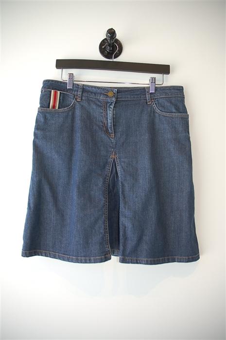 Item 101618  Burberry - London, Denim Skirt, Denim Blue, 8   Garb ... 837e95f2ddc