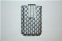 Dark Silver Gucci Phone Case, size O/S