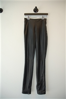 Black Leather By Malene Birger Leather Trouser, size 2