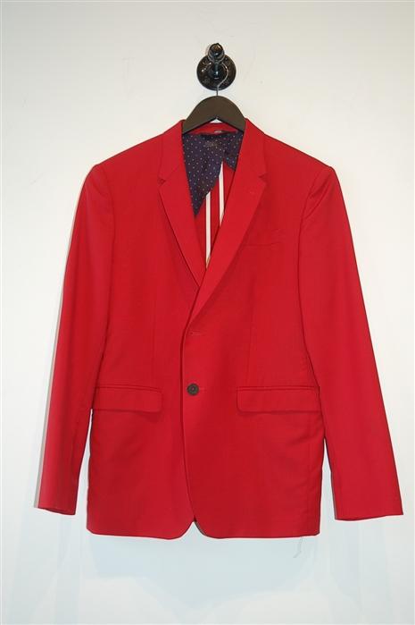 Bright Red Paul Smith - London Blazer, size 40