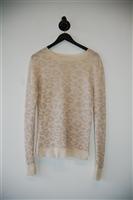 Cream A.L.C. Pullover, size M