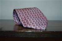 Lavender Hermes Tie, size O/S