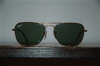 Gold Ray Ban Sunglasses, size O/S