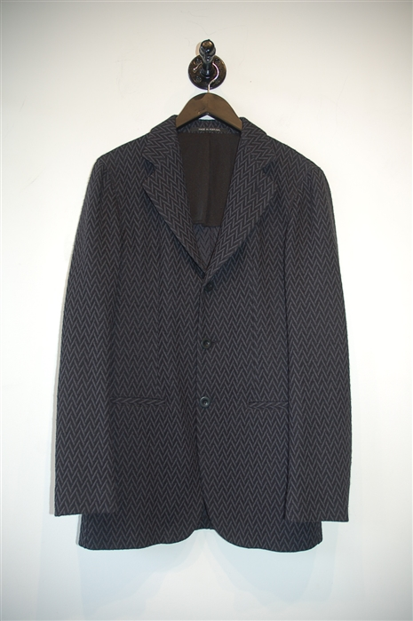 Blue & Black Armani Collezioni Blazer, size 36