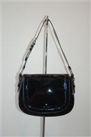 Black Patent Kate Spade Shoulder Bag, size M