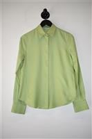 Light Lime Loro Piana Shirt, size 6