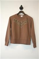 Raw Umber Carven Sweatshirt, size S