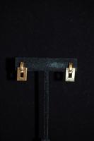 Gold Nina Ricci Earrings, size O/S